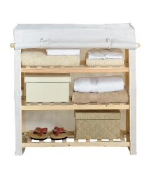 Canvas 3 Shelf Unit