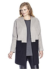 Ava Colour Block Coat