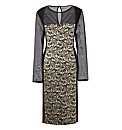 Ava By Mark Heyes Lace Jacquard Dress