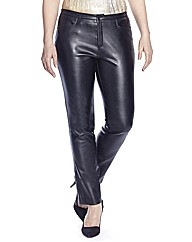 Ava Leather Look Trouser