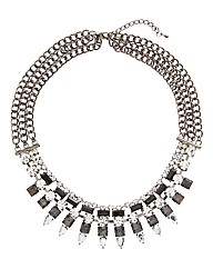 Together Boutique Spiky Necklace