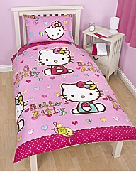 Hello Kitty Single Quilt Cover