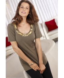 Arlene Phillips Embellished Top