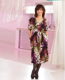 Arlene Phillips Print Dress 41 inch