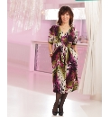 Arlene Phillips Print Dress 41 inch