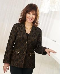 Arlene Phillips Lace Bonded Jacket