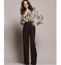 Fabrici Wide leg 70s Trousers 27in