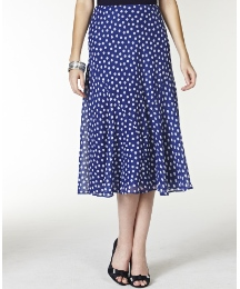 Polka Dot Skirt Length 29in
