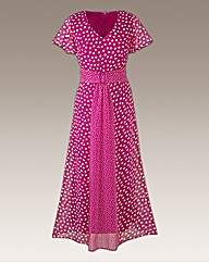 Polka Dot Dress Length 48in