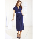 Plain Dress with Belt Length 41in