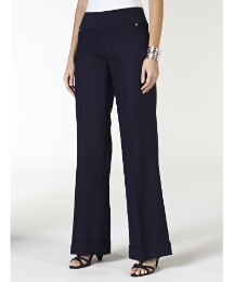 Comfort Waistband Linen Trouser 29in