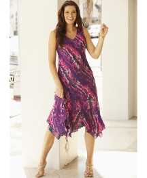 Reversible Versatile Dress Length 45in
