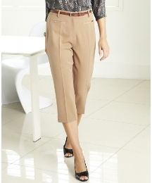 Mix and Match Crop Trousers Length 21in