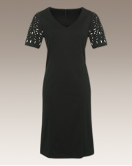 Arlene Phillips Shift Dress Length 41in