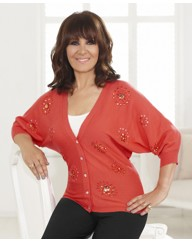 Arlene Phillips Batwing Cardigan