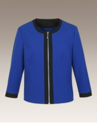 Arlene Phillips Collarless Jacket