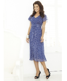 Polka Dot Dress Length 43in