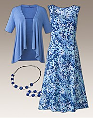 Four Piece Dress Set Length 45in