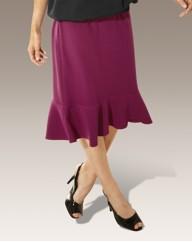 Crepe Skirt 25in