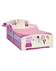 Peppa Pig Toddler bed and Storage