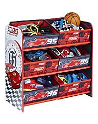 Disney Cars 6 Bin Storage