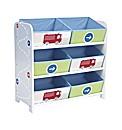 Boys Vehicle 6 Bin Storage