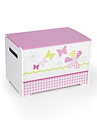 Girls Butterfly Toy box