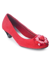 Viva La Diva Flower Court Shoes E Fit