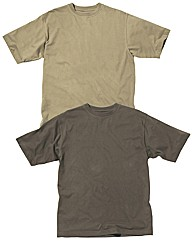 Premier Man Pk Of Two Crew Neck T-Shirts