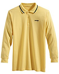 Southbay Unisex Long Sleeve Polo Shirt