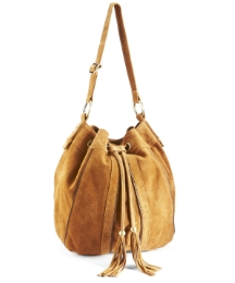Suede Tassle Bag