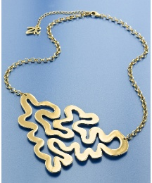 Zandra Rhodes Squiggle Necklace