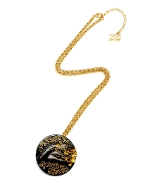 Zandra Rhodes Face Necklace