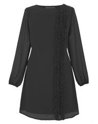 Frill Trim Tunic Dress