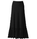 Anna Scholz Black Maxi Skirt