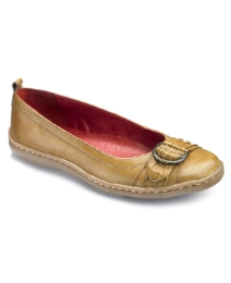 Sole Diva Buckle Ballet Pumps E Fit