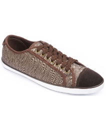 Jacamo Lace Up Canvas Trainers