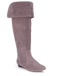 Grazia Stud Over Knee Boots E Fit