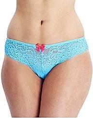 Gossard Luxury Lace Brazilian Brief