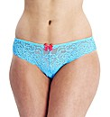 Gossard Luxury Lace Brazilian Brief