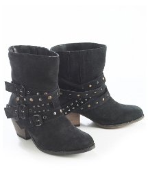 Joe Browns Studded Cowboy Boots EEE Fit