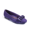 Viva La Diva Ruffle Ballet Pumps E Fit