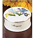 Flower of the Month Trinket Box