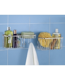 Suction Fit Storage Baskets Pack of 2