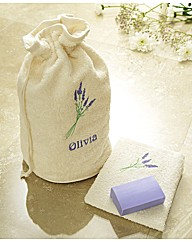 Wash Bag Set Lavender