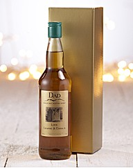 Personalised Whisky in a Gift Box