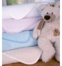 Clair de Lune Soft Cotton Waffle Blanket