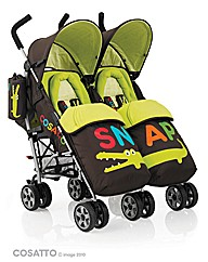 Cosatto You 2 Twin Stroller - Snap