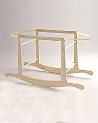 Clair de Lune Rocking Moses Basket Stand