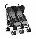Chicco Echo Twin Stroller in Moonstone